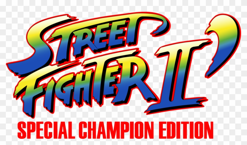 Street Fighter 2 Champion Edition Street Fighter Ii Champion Edition Logo Free Transparent Png Clipart Images Download