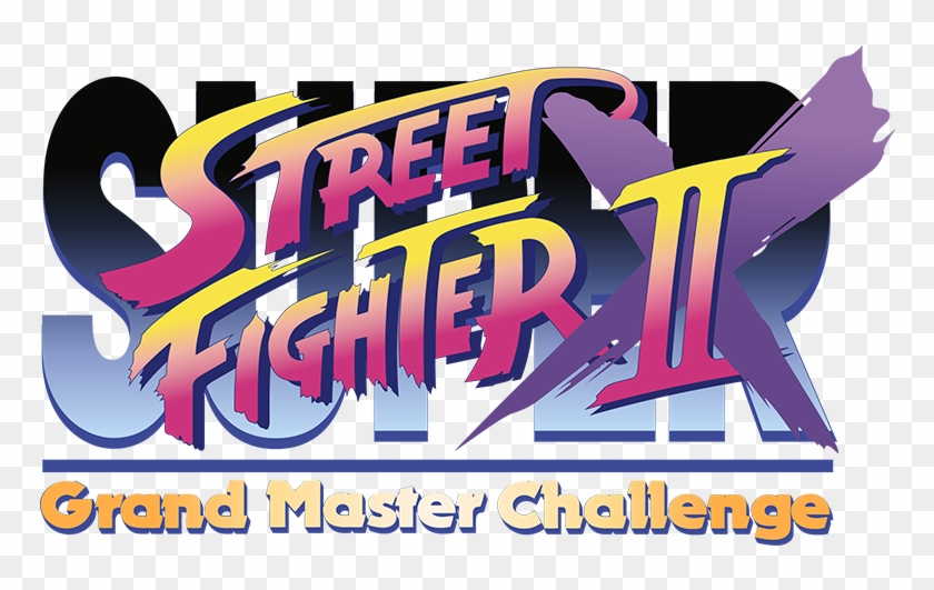 Super Street Fighter Ii X Vector Logo By Imleerobson Street Fighter Grand Master Challenge Free Transparent Png Clipart Images Download