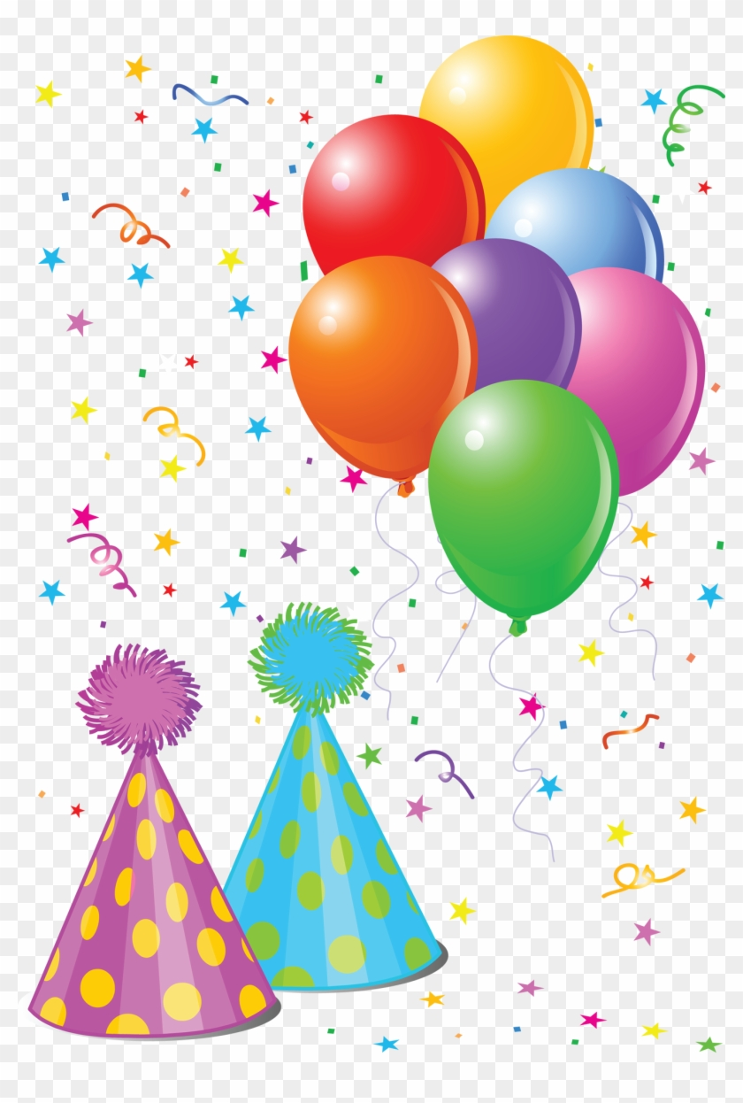 Balloons - Party Hat And Balloons #669932
