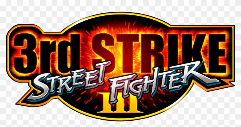 1999 Street Fighter Iii Third Strike Logo Free Transparent Png