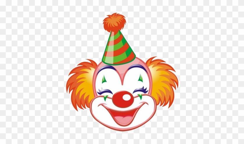 Molduras Carnaval E Palhaços Em Png - Clown Face Clipart #670413