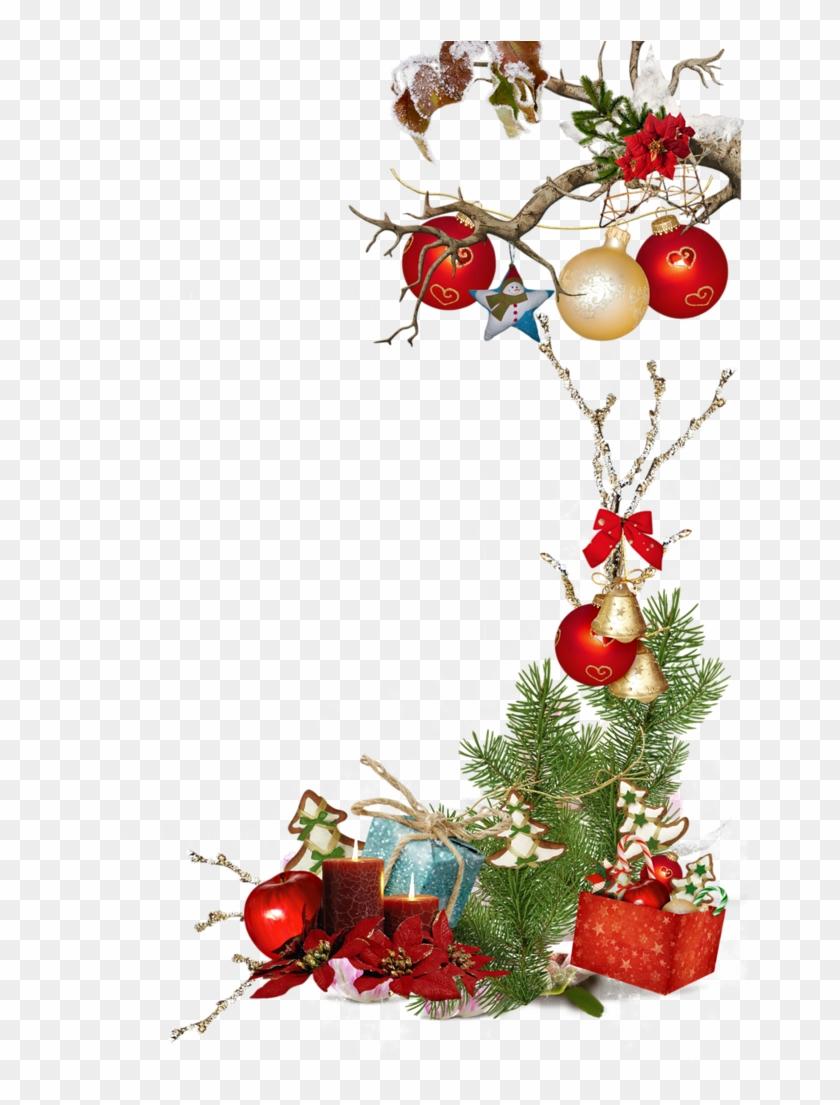 poinsetia or boite cadeau boules noeud rouge bordure de page noel gratuit free. Black Bedroom Furniture Sets. Home Design Ideas