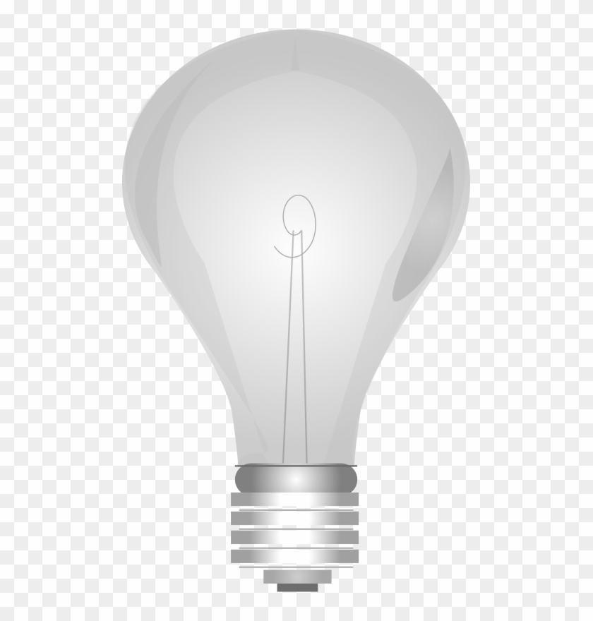 Lightbulb Grayscale Clip Art Light Bulb On And Off Free