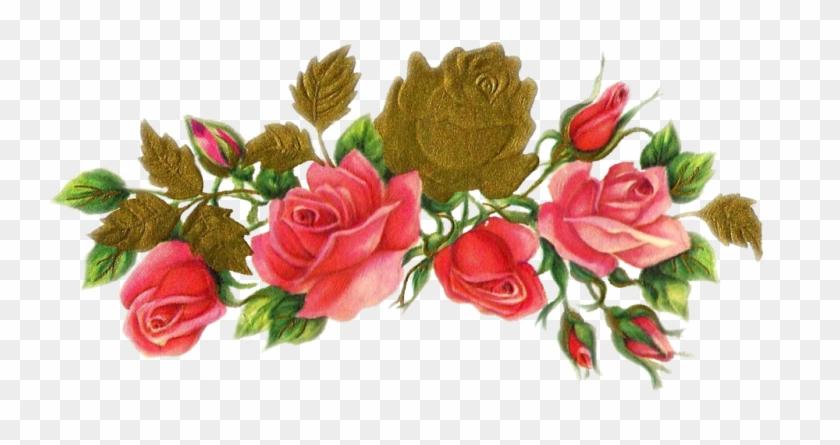 Jinifur Rose N Gold By Jinifur On Deviantart - Красивые Цветы На Плакат #671273