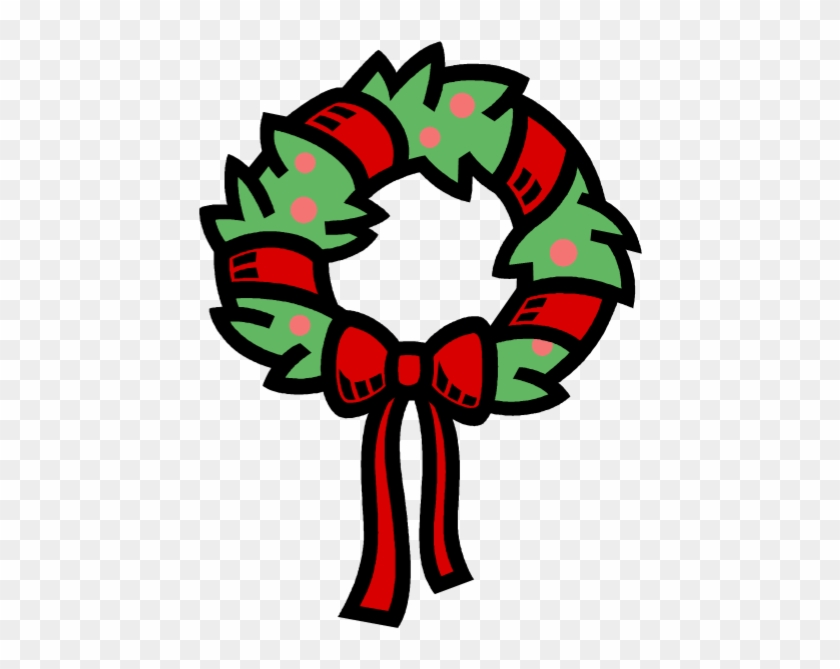 christmas wreath mailing label template christmas free