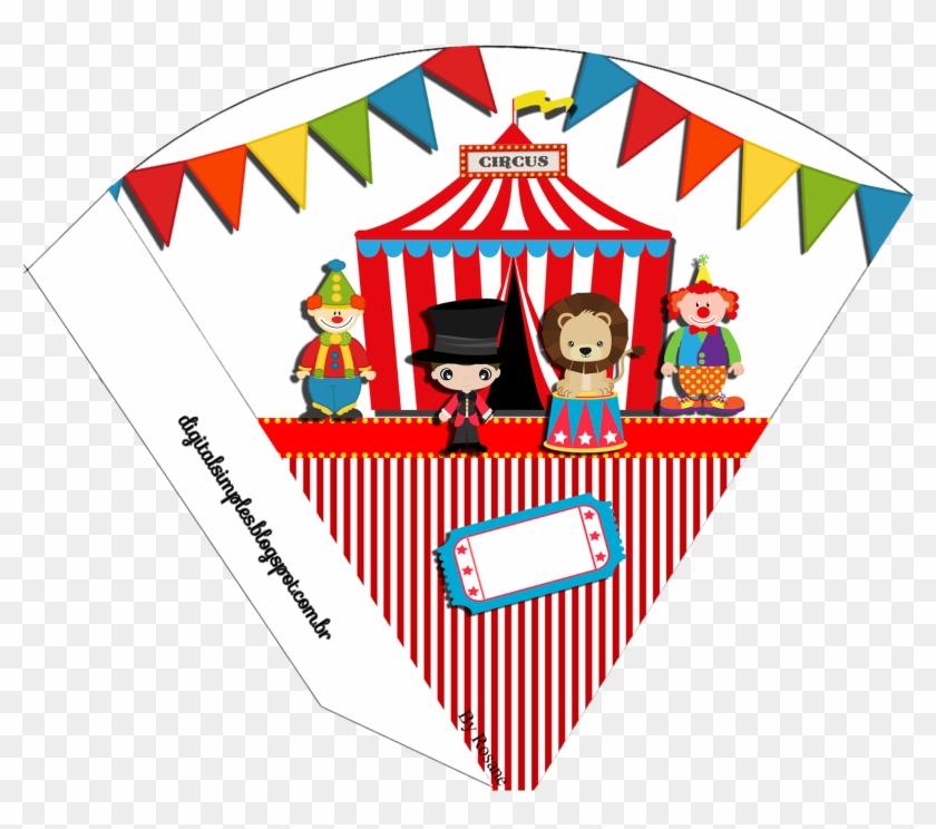 Convites Digitais Simples - Ideias De Convite Com Tema Do Circo #671327