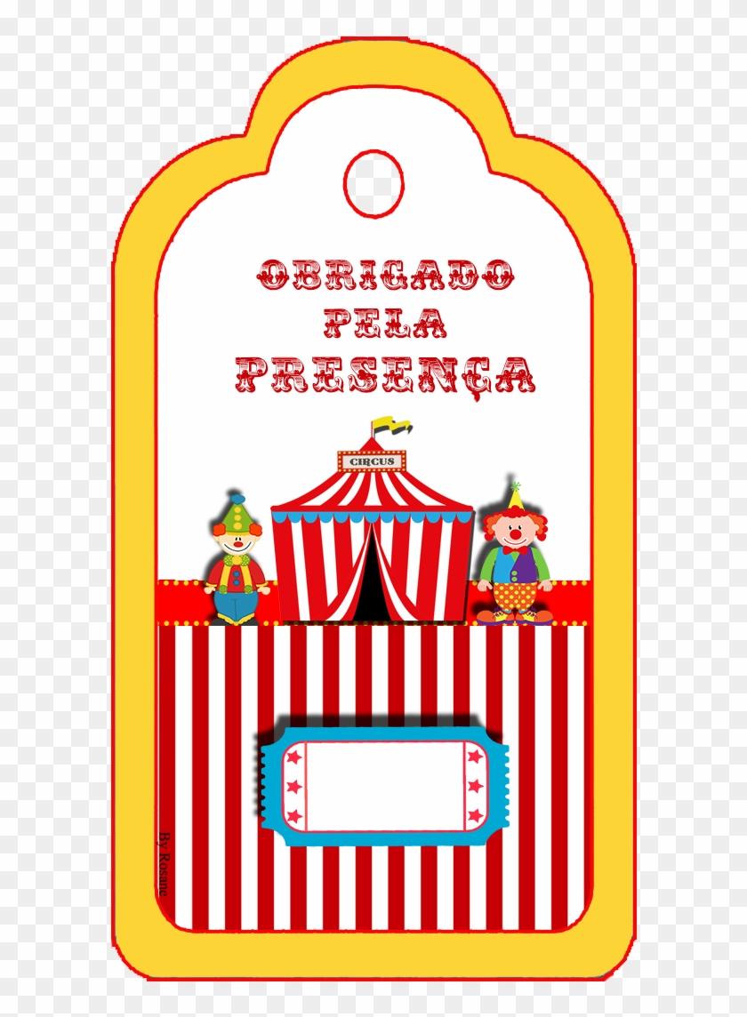 """Kit De Personalizados Tema """"circo"""" Para Imprimir - Festa Do Circo Para Imprimir #671340"""