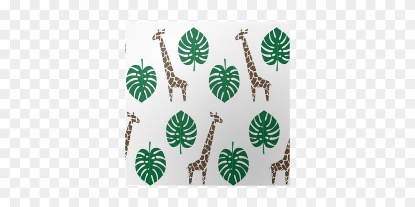 Animais Da Selva Com Plantas Tropicais Imprimem - Echo Park Paper Company Sf125061 Summer Fun Enamel #671623
