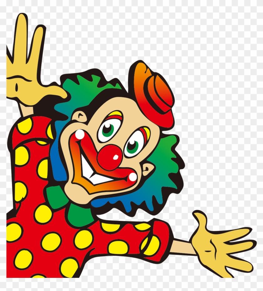 Смешной клоун нарисовать