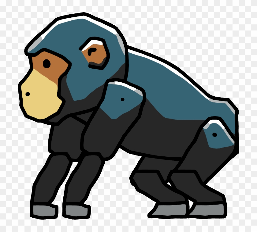 Chimpanzee - Chimpanzee Scribblenauts #672520