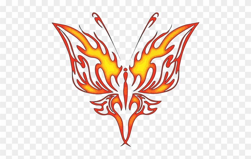 Tribal Butterfly Tattoos Designs High Quality Photos - Tattoo #672552