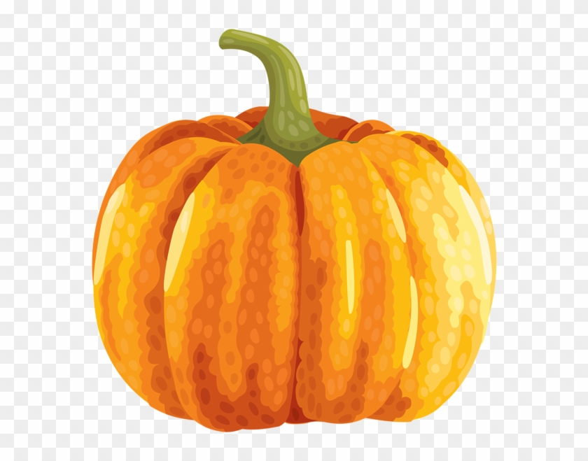 Large Autumn Pumpkin Clipart Png Image - Autumn Pumpkins Clip Art #673096