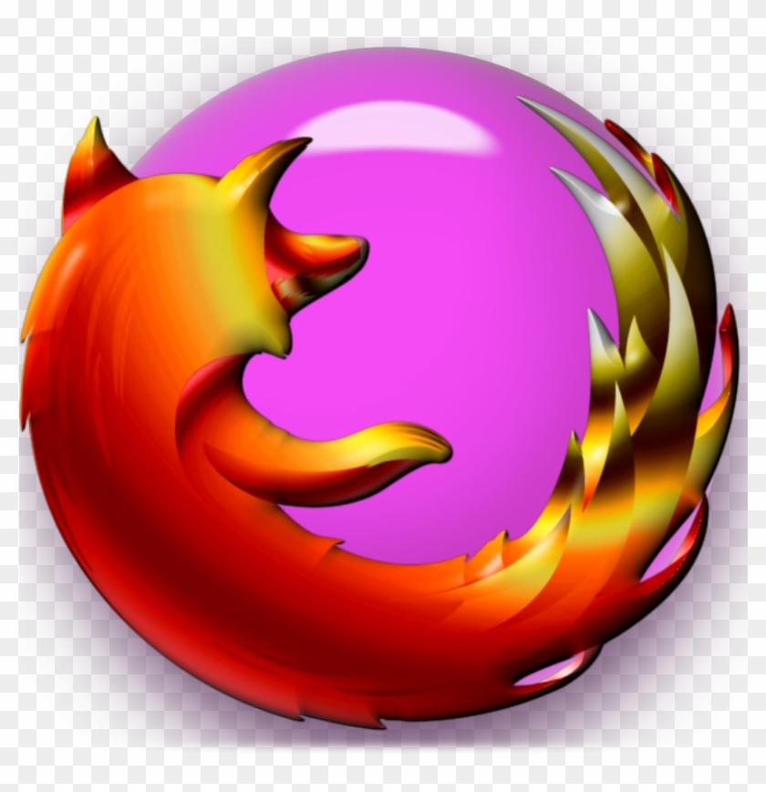 Firefox Pink Gumball Icon - Mozilla Firefox Logo Pink #673811