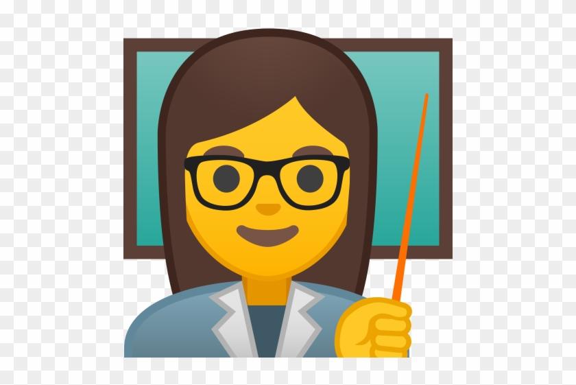 10224 Woman Teacher Icon - Emoji Teacher Png #674737