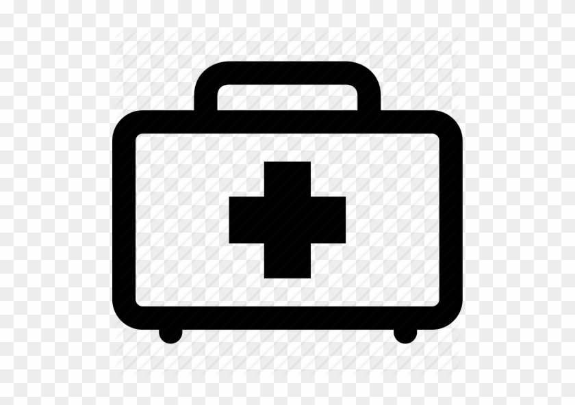 First Aid Box Kit Free - First Aid Icon Png #675115