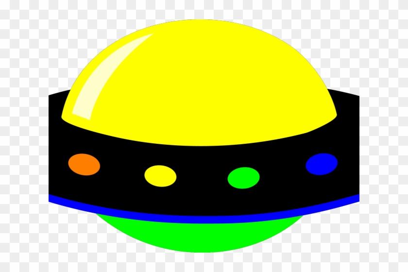 Ufo Clipart House - Transparent Background Alien Spaceship Clipart #675787