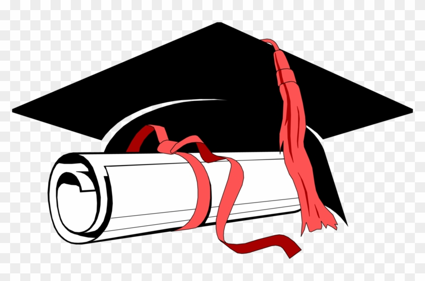 Graduation Cap And Scroll Clip Art To Print Pictures - Degree Meaning In  Hindi - Free Transparent PNG Clipart Images Download