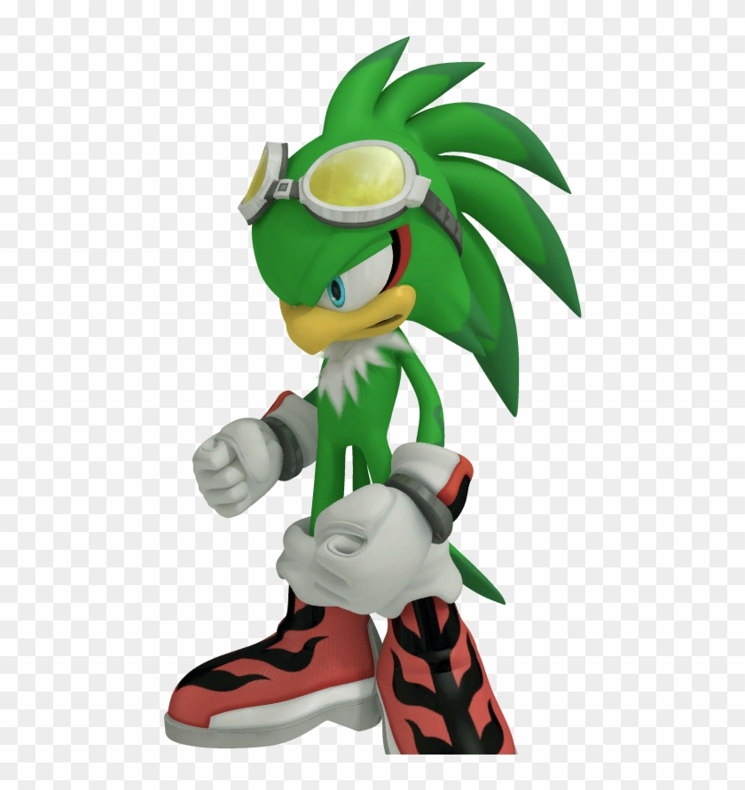 Jet The Hawk Sonic Free Riders Free Transparent Png Clipart Images Download
