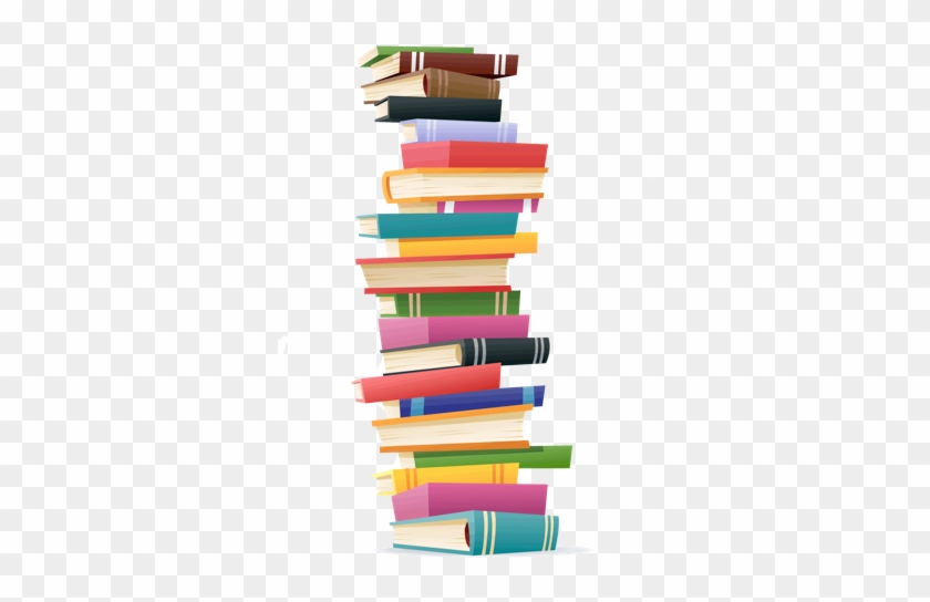 Free Stack Of Textbooks Png - Tall Stack Of Books Clipart #679132