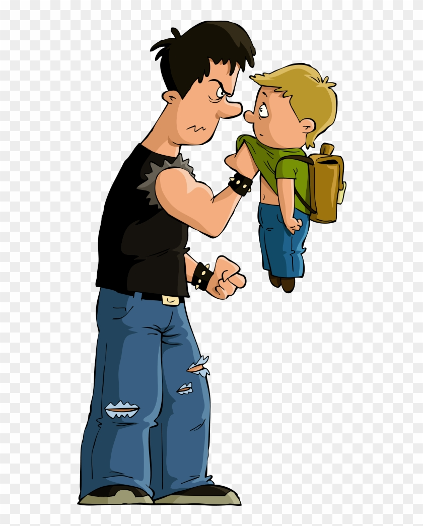 Bullying Cartoon Clip Art - Bully Catoon #679559