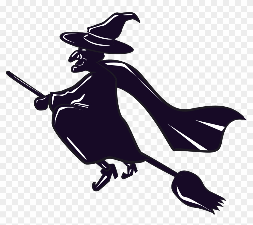 Clipart With Transparent Background Witch Witch On A Broomstick Clipart Free Transparent Png Clipart Images Download