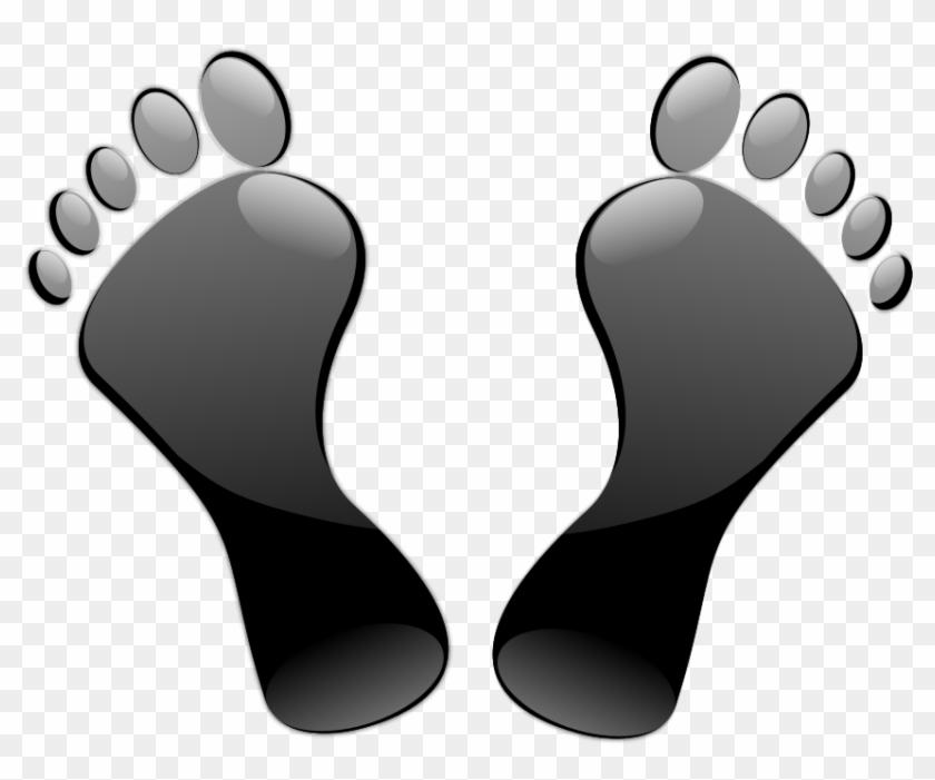 Snake Add Feet Clipart, Vector Clip Art Online, Royalty - Black Feet #120700