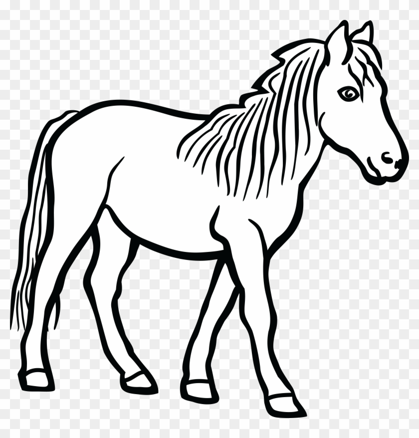 Free Clipart Of A Horse - Mane #120732