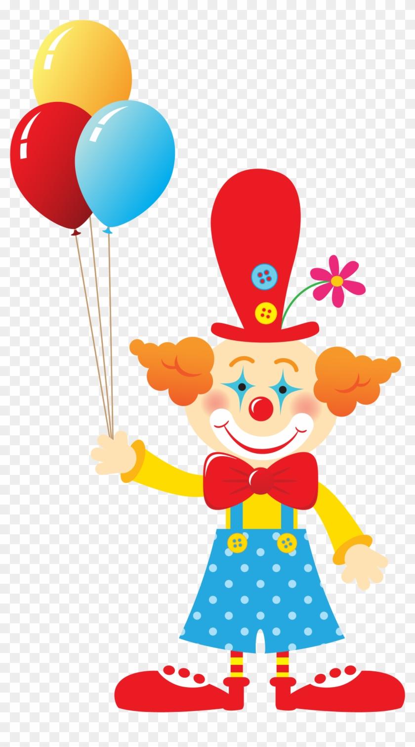Cute Cliparts ❤ Circo - Clown Clipart Png #120759