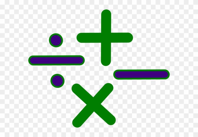 Math Signs Clip Art - Math Symbols Transparent #120778