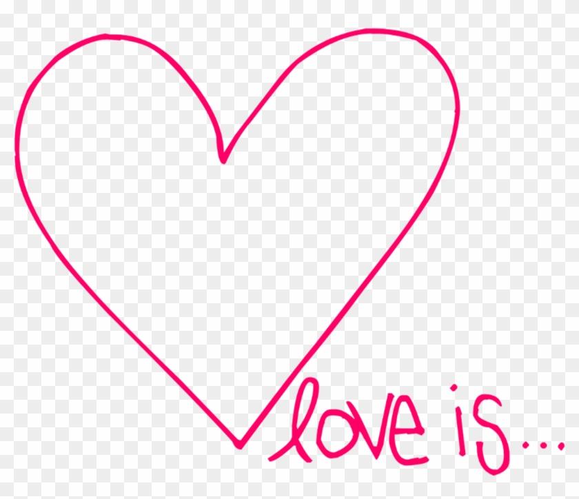 Love Is Clipart - Liebe Ist Zahl Skaten, Mädchen-skater U. Herz Karte #120808