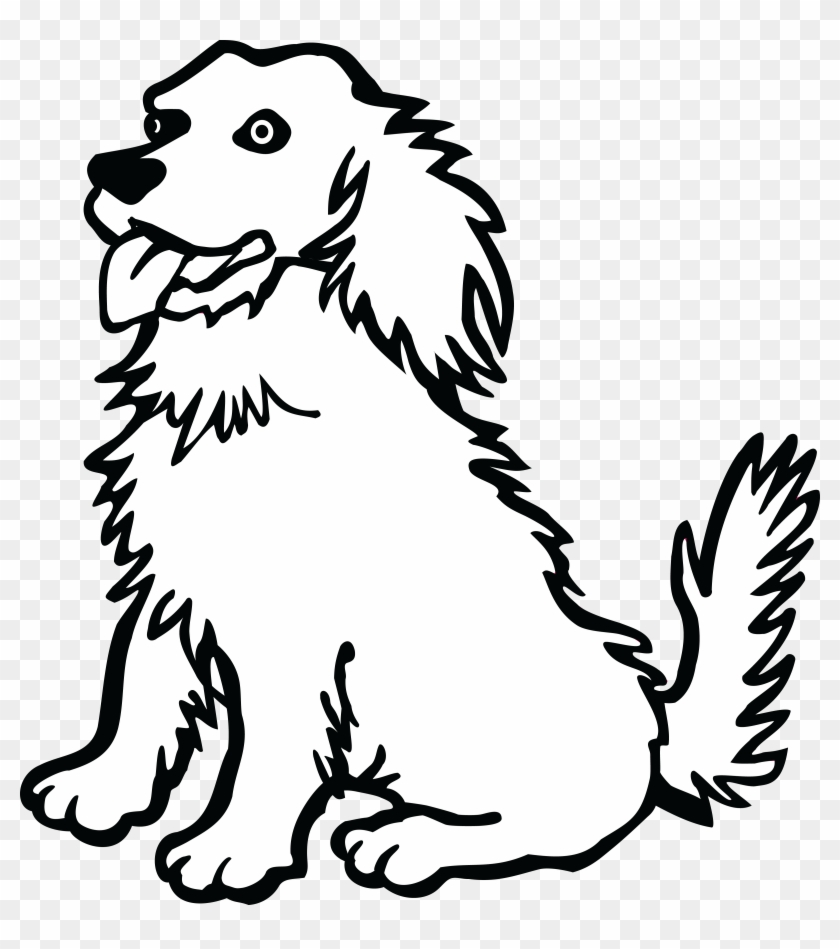 Free Clipart Of A Dog Dog Clipart Black And White Free