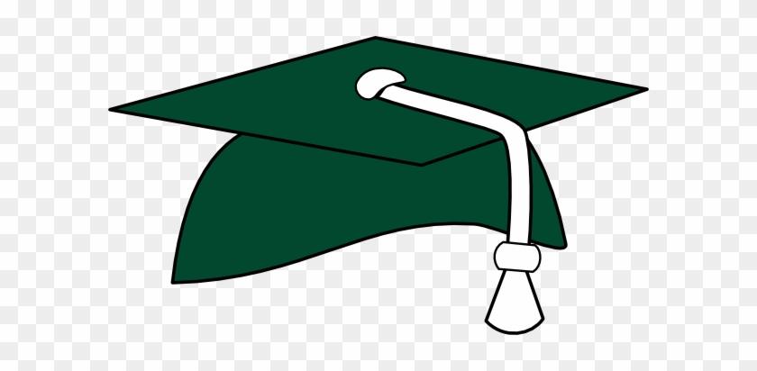 Class Of - Graduation Cap With Green Tassel #120884