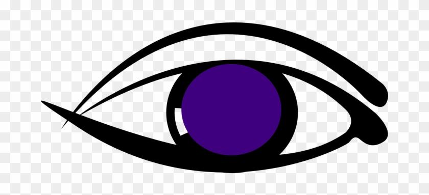 Eye Puprle Design Eyelid Watch See Know My - Desain Mata Vektor #120969