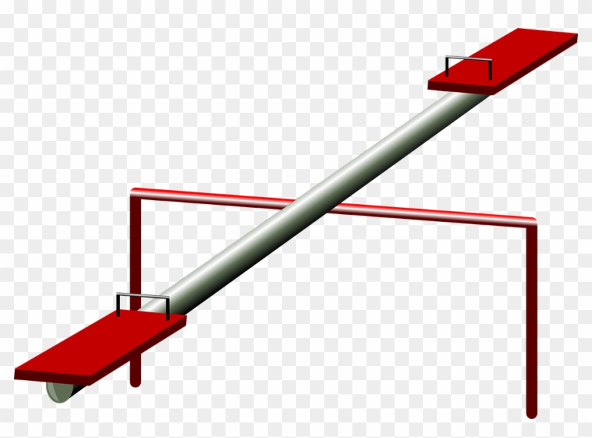 Seesaw Clipart #121009