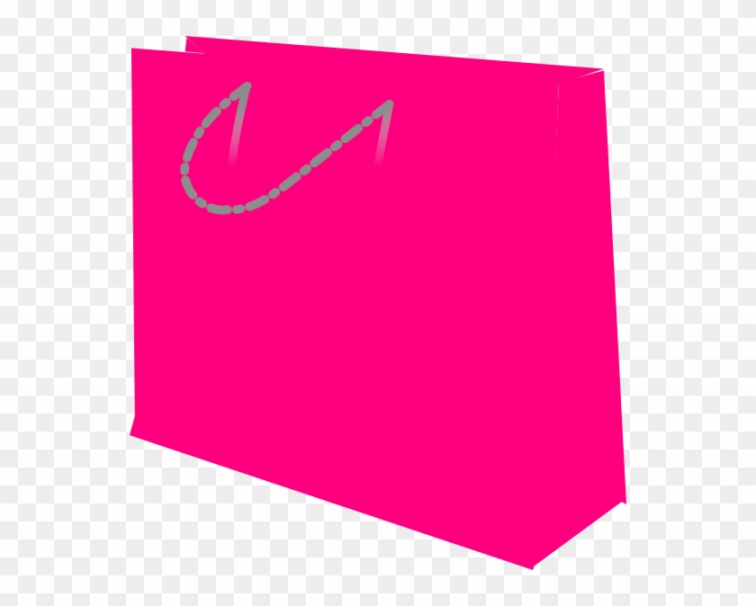 Bag Clip Art - Pink Shopping Bag Clipart #121121