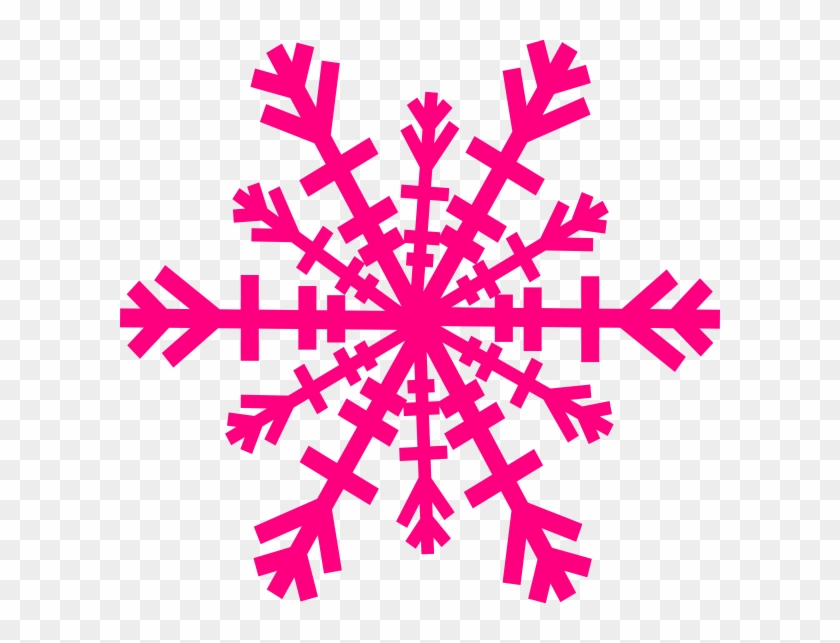 Colorful Snowflake Clipart #121163