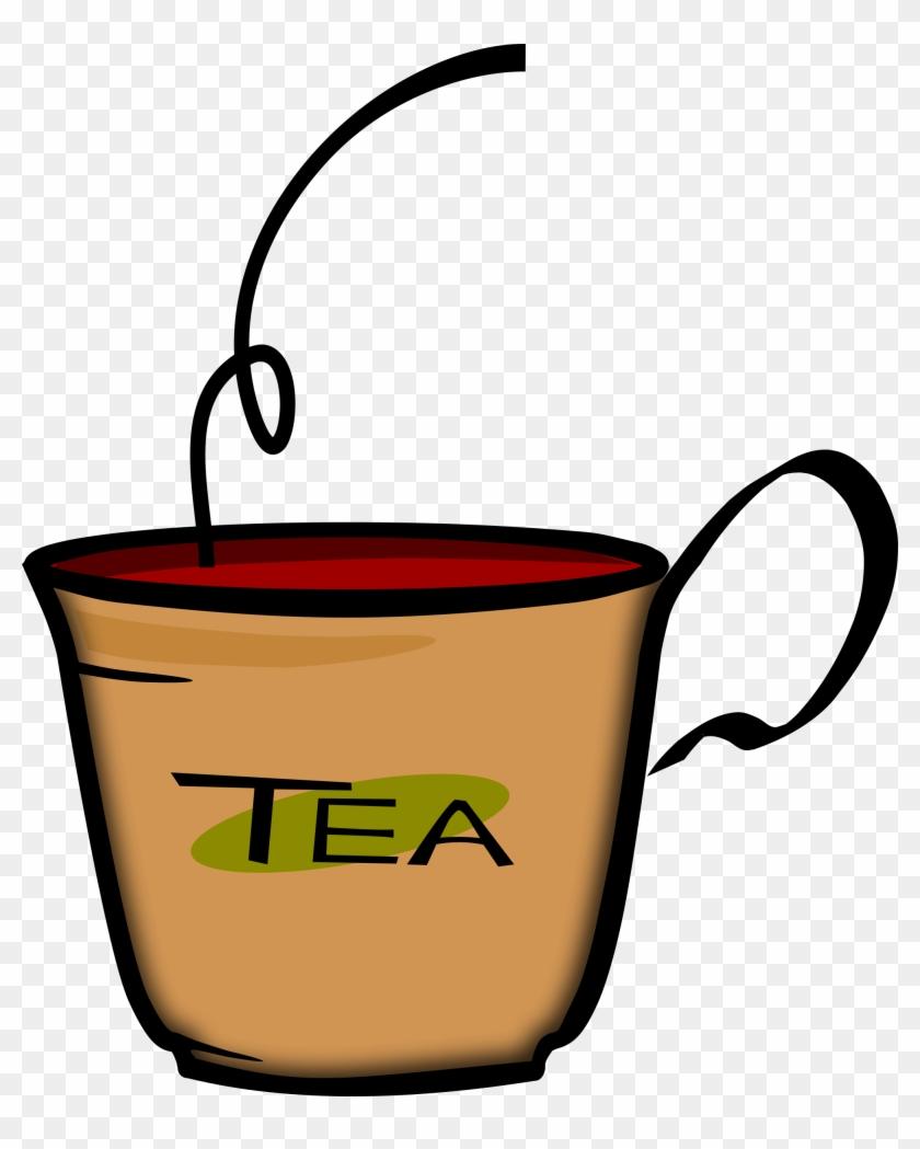 Tea Cup Clipart - Tea Clipart #121175