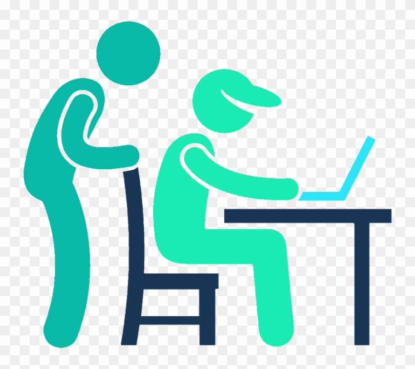 Chapter Review Clip Art - Working Software Icon #121223