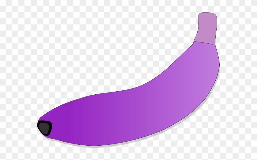 Funny Banana Pictures Clip Art - Purple Banana Clipart #121242