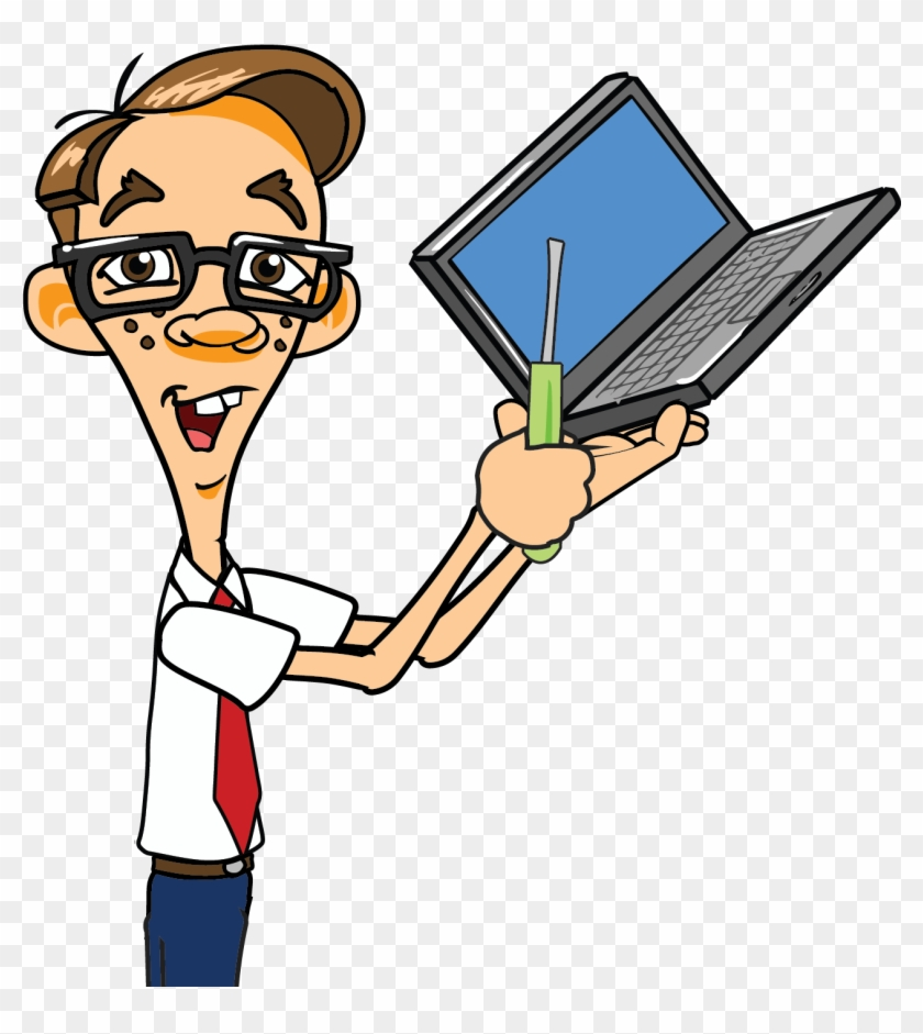 Laptop Clipart Pc Repair - Nerds On Call #121262