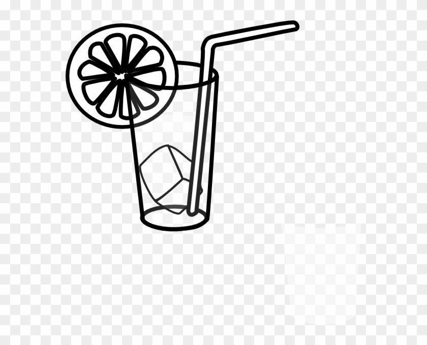 Lemonade 3 Clip Art - Black And White Lemonade #121310