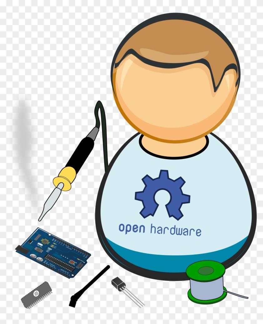 Hacker Clipart Computer Technician - Hardware Clipart #121314