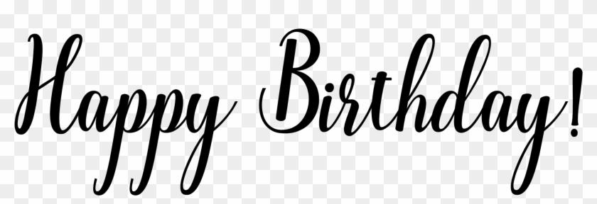 Happy Birthday Word Art Download Image Here - Happy Birthday Vintage Png #121546