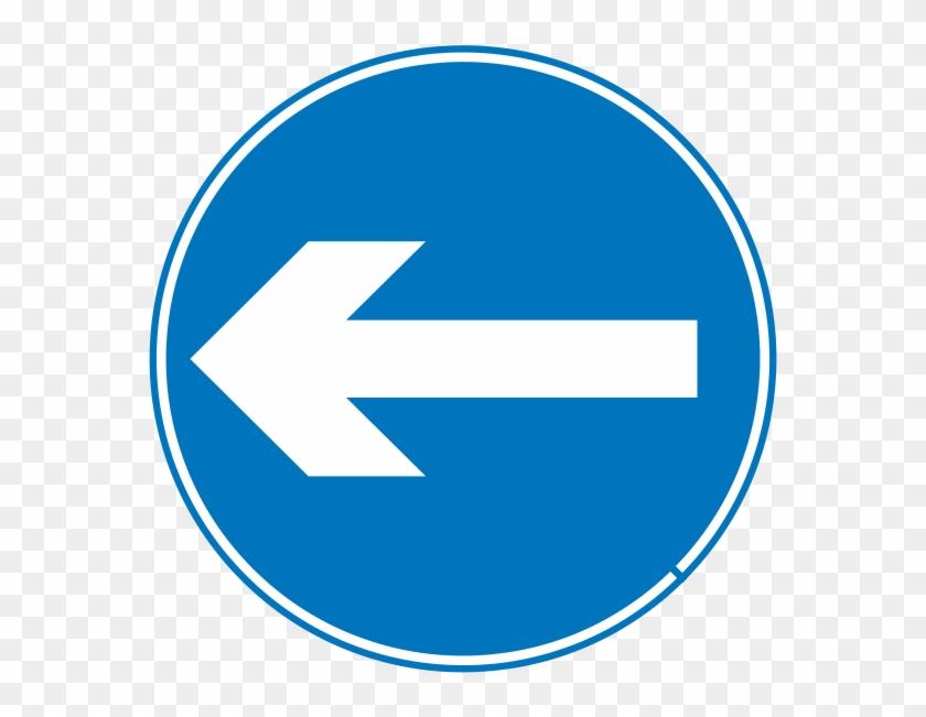 Traffic Signs Go Straight #121565