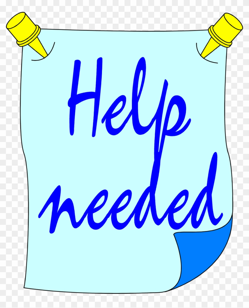 Help Wanted Clip Art Free - Free Clip Art Help Needed #121688