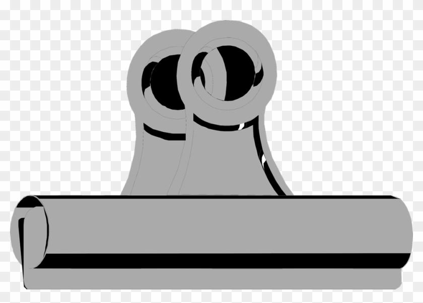 Binder Clip - Metal Clip Transparent Background #121805