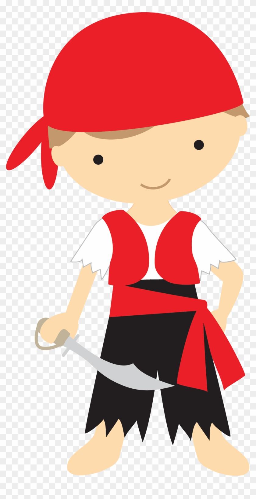 An Idea 4 U רעיון בשבילך - Pirate Boy Clip Art #121816