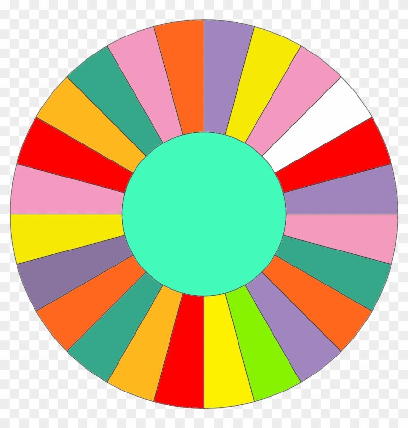 Wheel Clipart Fortune - Blank Wheel Of Fortune Wheel #121855