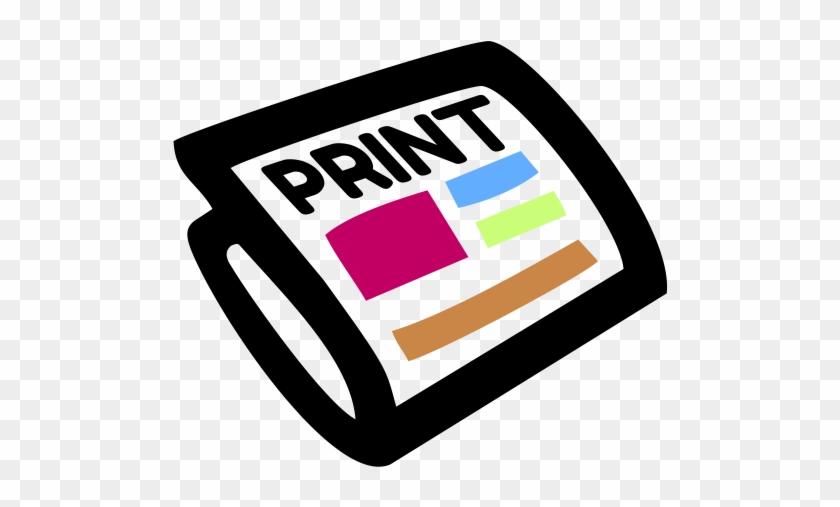 Home - Print Media Clip Art #121864