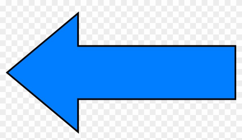 Arrows Blue - Blue Arrow Pointing Left #121869